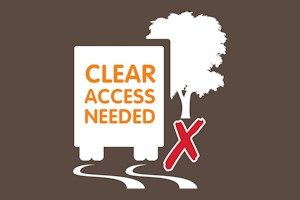 clear access needed