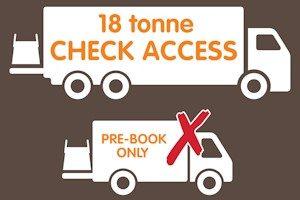 18 tonne access